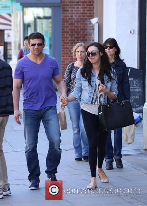 Alex Reid and Nikki Manashe - Alex Reid and his new girlfriend Nikki Manashe out and about in north London...