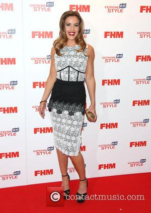 Charlie Webster - The FHM Sexiest Women Awards 2013 held at the Sanderson hotel - Arrivals - London, United Kingdom...