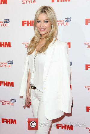 Laura Whitmore - The FHM Sexiest Women Awards 2013 held at the Sanderson hotel - Arrivals - London, United Kingdom...