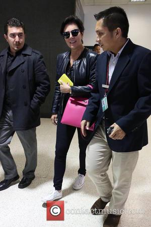 Kris Jenner - Celebrities arriving at LAX airport on an international flight - Los Angeles, CA, United States - Wednesday...