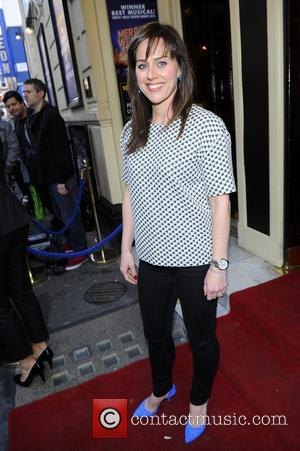 Jill Halfpenny - 'Merrily We Roll Along'  Press Night at The Harold Pinter Theatre - Outside Arrivals - London,...