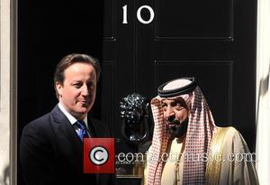 David Cameron and Sheikh Khalifa Bin Zayed Al Nahyan