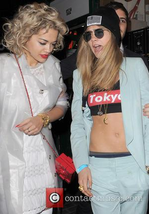 Rita Ora - Celebrities leaving The Box Club