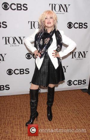 Cyndi Lauper - Meet The 2013 Tony Award Nominees Reception held at the Broadway Millenium Hotel. - New York, NY,...