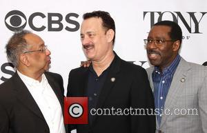 George C. Wolfe, Tom Hanks and Courtney B. Vance