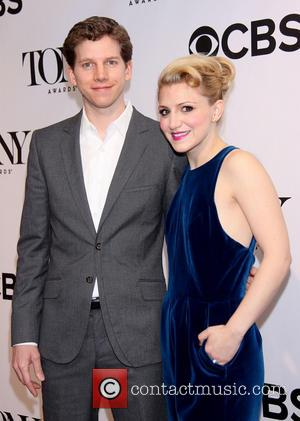 Stark Sands and Annaleigh Ashford - Meet The 2013 Tony Award Nominees Reception held at the Broadway Millenium Hotel -...