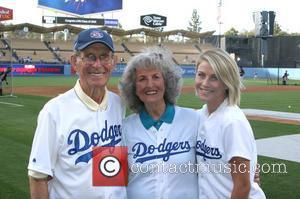 Julianne Hough, Bob Hough and Cokie Hough