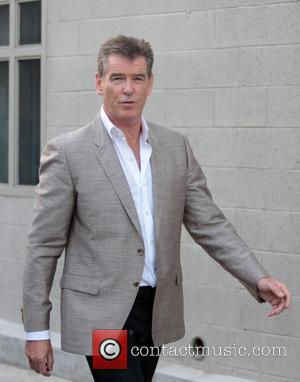 Pierce Brosnan - Pierce Brosnan outside the ABC studios for Jimmy Kimmel Live! - Hollywood, California, United States - Wednesday...