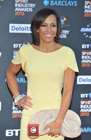 Dame Kelly Holmes - BT Sport Industry Awards held at the  Battersea Evolution - Arrivals - London, England, United...