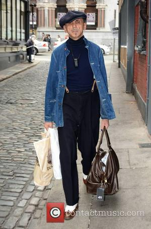 Kevin Rowland - Looking rather dapper Kevin Rowland, lead singer of 'Dexys' (formely Dexys Midnight Runners), arriving at The Olympia...