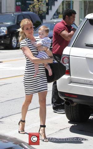 Kristin Cavallari and Camden Cutler - Kristin Cavallari and son Camden go out to lunch at Urth Cafe in West...