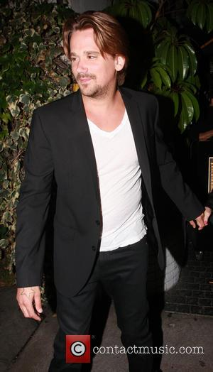Sean Stewart - Sean Stewart leaving Chateau Marmont with his girlfriend, Adrienne Maloof - Hollywood, California, United States - Thursday...