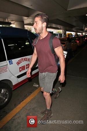Shia LeBeouf - Shia LeBeouf is seen arriving at LAX Airport from London - Los Angeles, CA, United States -...