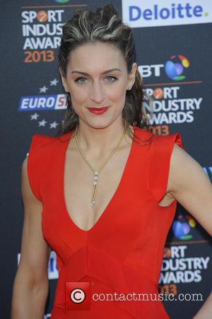 Amy Williams - BT Sport Industry Awards held at the Battersea Evolution - Arrivals - London, United Kingdom - Thursday...