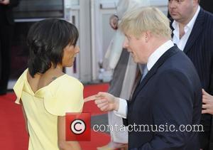 Boris Johnson and Kelly Holmes
