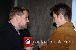James Corden and Andrew Garfield - Opening night after party for the Brits Off Broadway production of