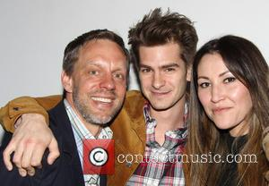 Sam Troughton, Andrew Garfield and Eleanor Matsuura