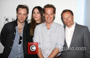 Sam Troughton, Eleanor Matsuura, Adam James and Neil Stuke