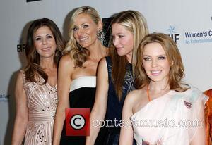 Rita Wilson, Jaime Tisch, Quinn Ezralow and Kylie Minogue