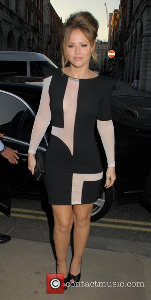Kimberley Walsh - Kimberley Walsh seen leaving the BAFTA book event - London, United Kingdom - Thursday 2nd May 2013