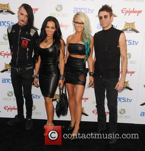 Butcher Babies - The Fifth Annual Revolver Golden Gods Awards show - arrivals - Los Angeles, CA, United States -...