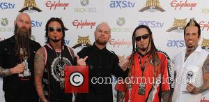 Five Finger Death Punch - The Fifth Annual Revolver Golden Gods Awards show - arrivals - Los Angeles, CA, United...