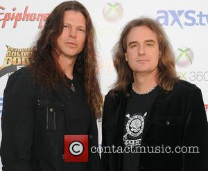 Megadeth - The Fifth Annual Revolver Golden Gods Awards Show - Arrivals - Los Angeles, California, United States - Thursday...
