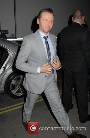 Simon Pegg, Grey, Gray and Suit