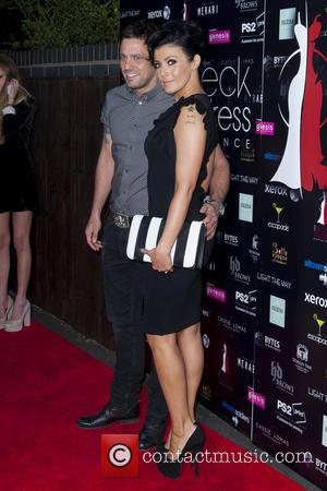 Jamie Lomas and Kym Marsh - Wreck my Dress Experience at Whitecot - Manchester, United Kingdom - Thursday 2nd May...