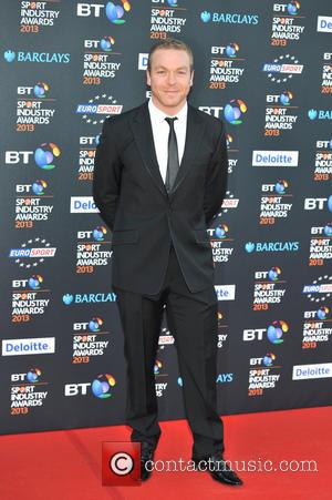 Sir Chris Hoy - BT Sport Industry Awards held at the  Battersea Evolution - Arrivals - London, United Kingdom...
