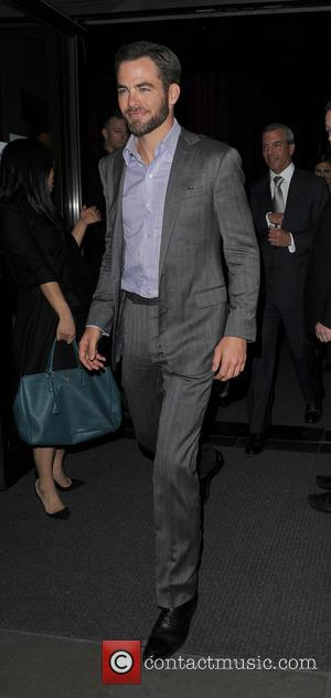 Chris Pine - Celebrities leaving Aqua Nueva restaurant - London, United Kingdom - Friday 3rd May 2013