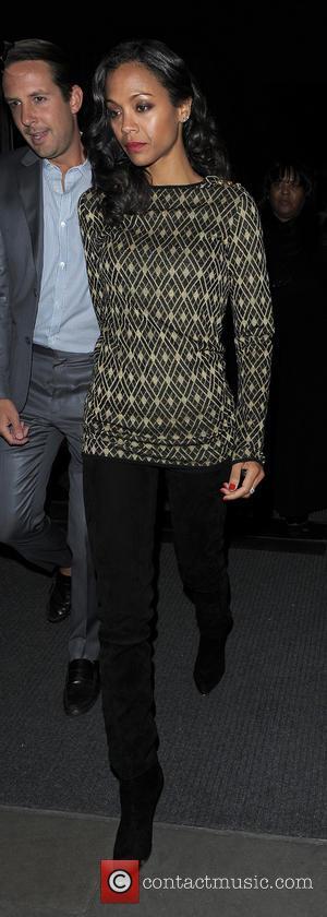 Aqua and Zoe Salanda