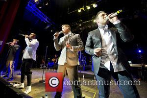 Blue, Lee Ryan, Simon Webbe, Duncan James and Antony Costa