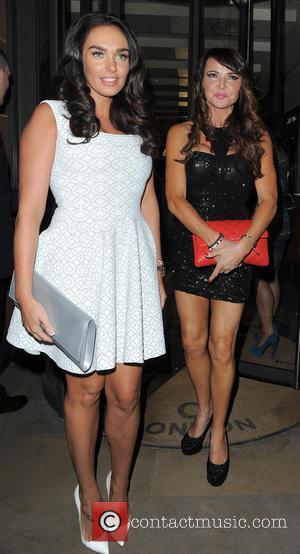 Tamara Ecclestone and Lizzie Cundy