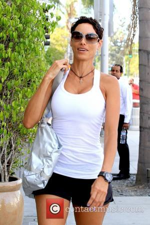 Nicole Murphy - Nicole Murphy seen in her fitness gear on Canon Drive - Los Angeles , California, United States...