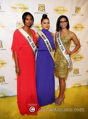 Miss Usa Nana Meriwether, Miss Universe Olivia Culpo and Miss Teen Usa Logan West