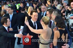 Benedict Cumberbatch and Alice Eve