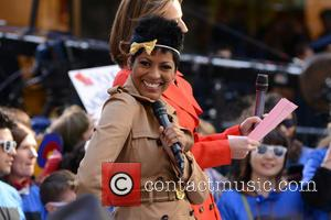 Tamron Hall - South Korean rapper PSY performing live at Rockefeller Center as part of NBC's 'Today Show' Concert Series...