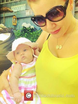 Imogen Thomas and Daughter Ariana Horsley