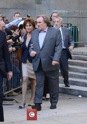 Gerard Depardieu and Jacqueline Bisset