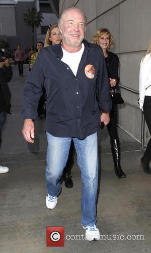 James Caan - Celebrities out in Downtown Los Angeles arriving to watch the Rolling Stones in concert - Los Angeles,...