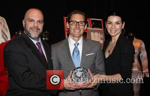 Stephen Cabral, Daniel Lawson and Julianna Margulies