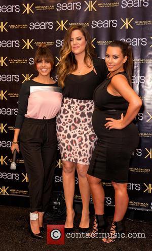 Kourtney Kardashian, Kim Kardashian and Khloe Kardashian