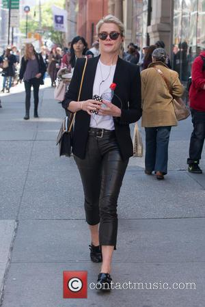 Rachael Taylor - Australian actress and model Rachael Taylor walking in the West Village - New York City, NY, United...