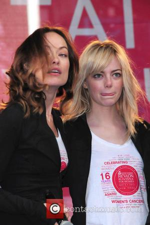 Olivia Wilde and Emma Stone