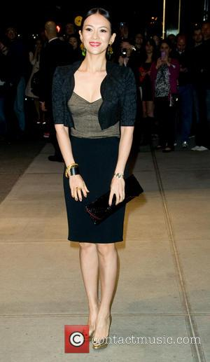 Ziyi Zhang - Dolce & Gabbana Fifth Avenue Flagship Store Opening - Outside Arrivals - New York, United States -...