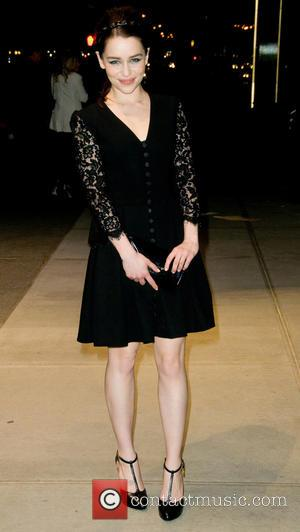 Emilia Clarke - Dolce & Gabbana Fifth Avenue Flagship Store Opening - Outside Arrivals - New York, United States -...