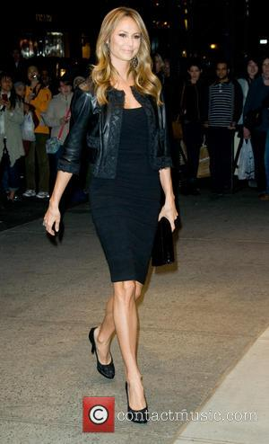 Stacy Keibler - Dolce & Gabbana Fifth Avenue Flagship Store Opening - Outside Arrivals - New York, United States -...