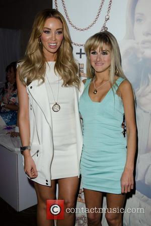 Lauren Pope and Nikki Grahame