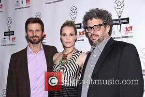 Fred Weller, Leslie Bibb and Neil La Bute - 28th Annual Lucille Lortel Awards - Arrivals - New York, United...